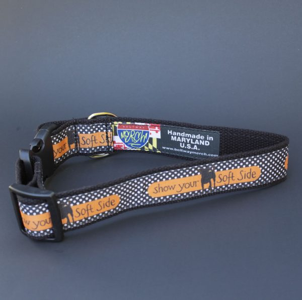 Show Your Soft Side Dog Collar