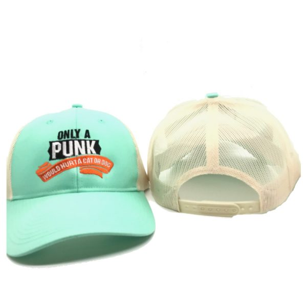 only a punch trucker hat