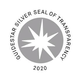 Guidestar Silver Seal of Transparency 2020 logo